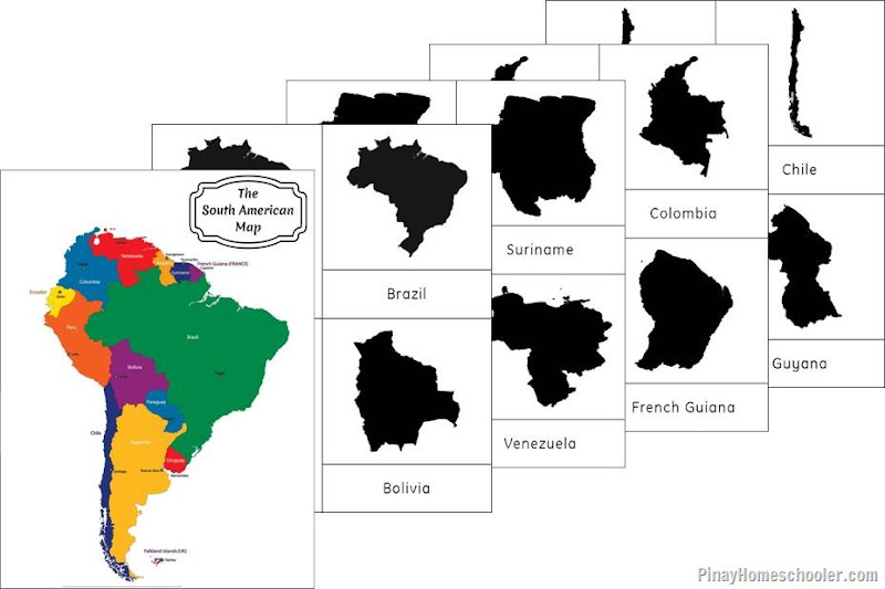South America Continent Maps