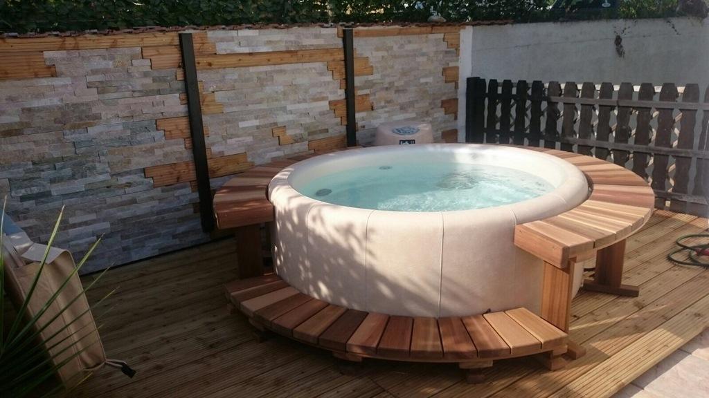 terrassen whirlpool. Black Bedroom Furniture Sets. Home Design Ideas
