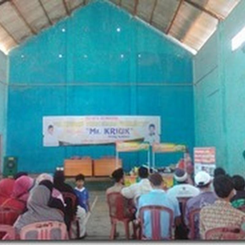 Tingkatkan Ekonomi Masyarakat, Aleg PKS Mengadakan Pelatihan Wirausaha