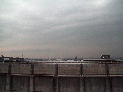 名鉄バス「青葉号」 2701 名古屋高速走行中