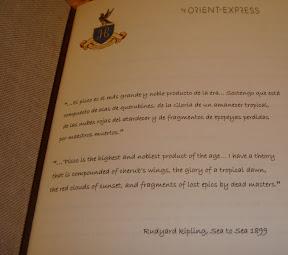 yeah, Kipling would say that