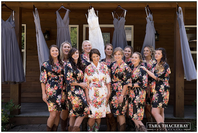 Bridesmaids Robes Floral