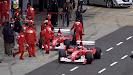 Rubens Barrichello & Michael Schumacher Ferrari 248 F1