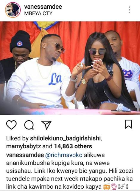 Vanessa Mdee Kuja Na Ngoma Mpya Wiki Ijayo.