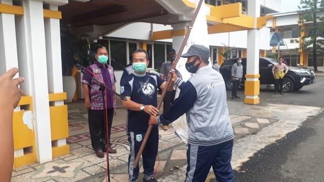 Kontingen Popda Kotabaru Mengincar Prestasi di Tengah Pandemi