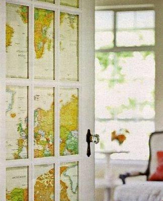 sepia smiles antique map home decor ideas