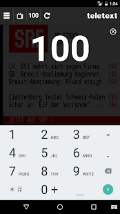 TELETEXT (mobile Website)- screenshot thumbnail