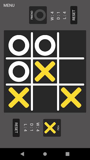 Tic Tac Toe : Noughts and Crosses, OX, XO 1.7.0 screenshots 1