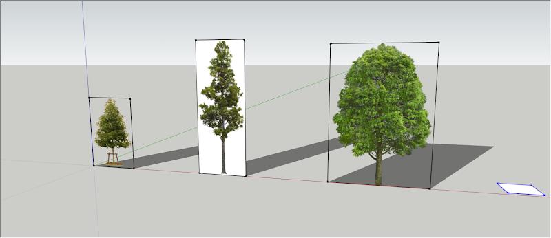 การกำหนดค่า Material ของต้นไม้แบบ 2D ให้มีความโปร่งใส Vraytree03