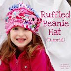 Ruffle Beanie Hat