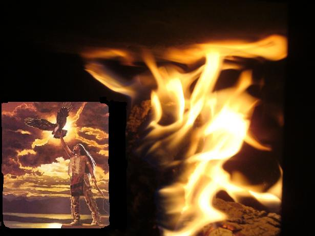 сказка огонь