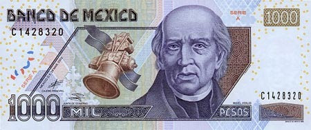 billete mil pesos