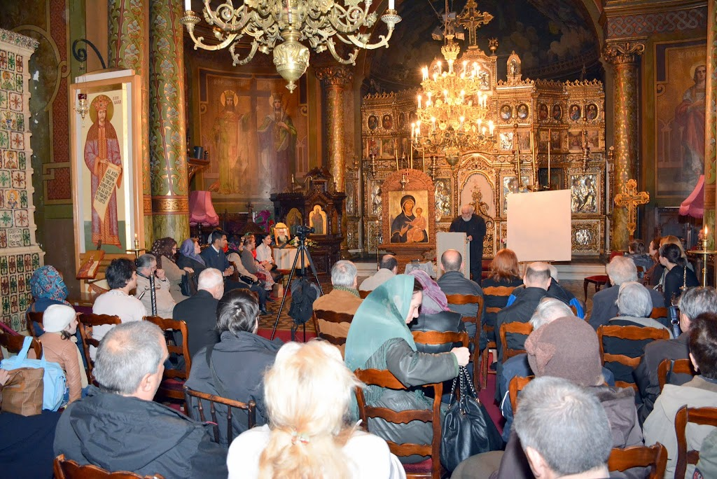 Sorin Dumitrescu la Sf. Silvestru despre Inviere 010