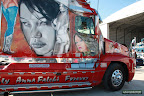 Semi Trailer with Women graphics