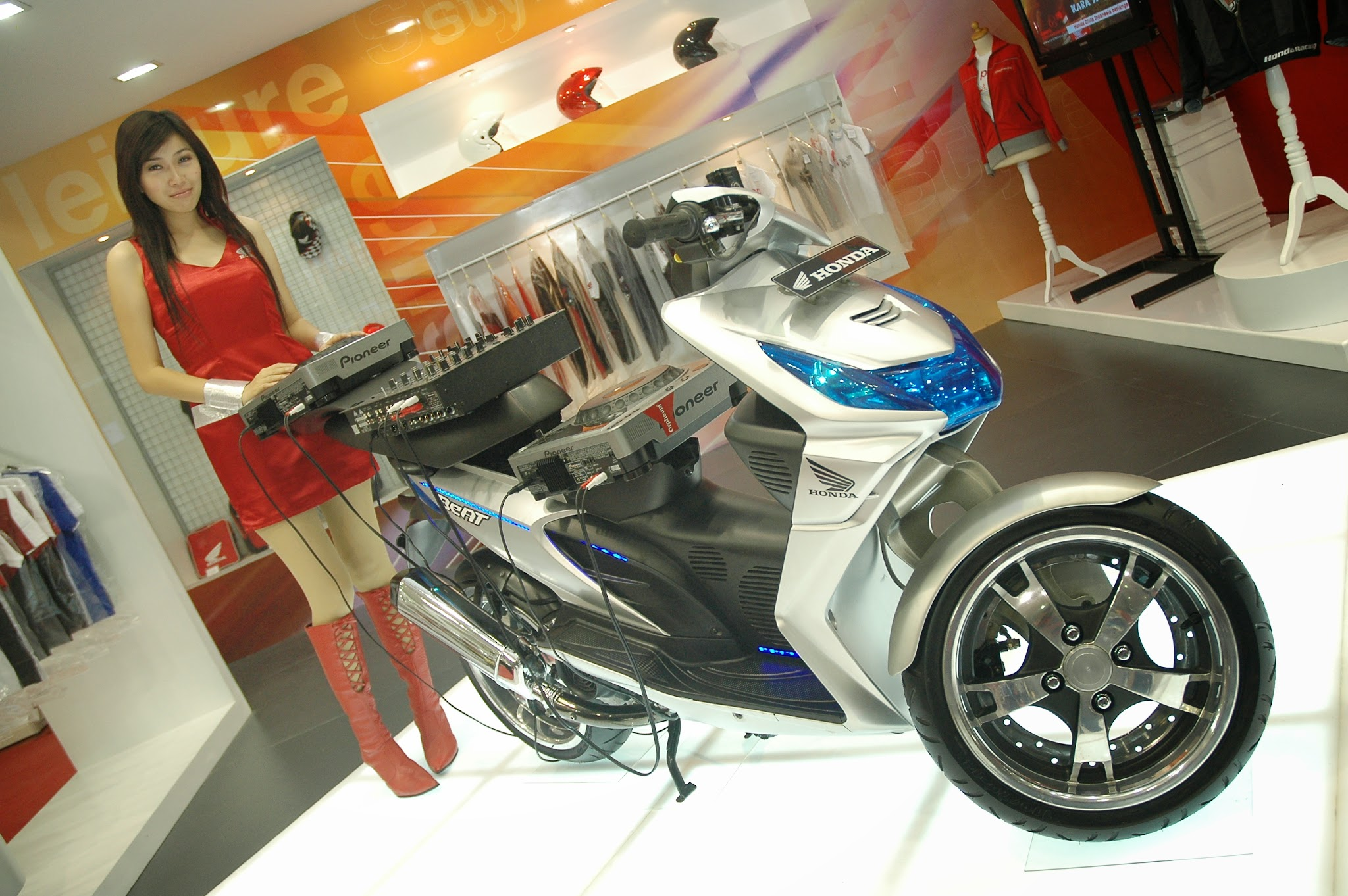 modifikasi honda beat 2013