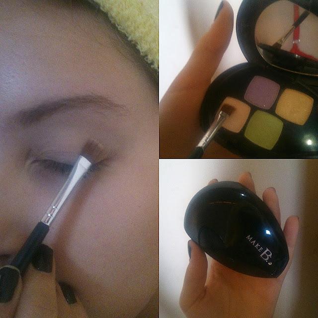Maquiagem básica para o dia a dia! Blog Insaturada! Preparação dos olhos