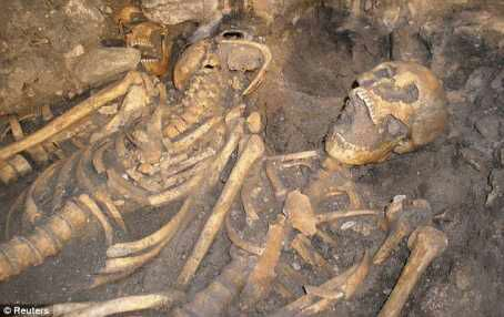 Mass grave with remains of 40 bodies discovered