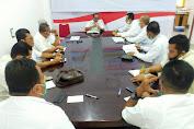 Sekda Aceh Timur Gelar Rapat Koordinasi terkait PPKM dan Vaksinasi untuk Masyarakat