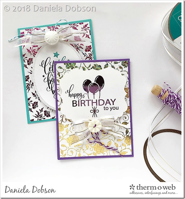 Birthday cards by Daniela Dobson