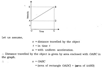 9th Class Science Notes in English chapter 8 Motion