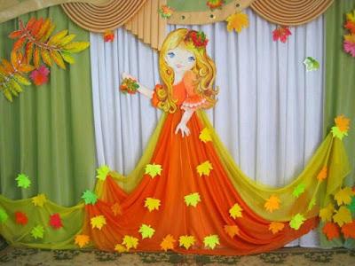 M s y m s manualidades usa cortinas de tela para decorar for Puertas decoradas con flores de papel
