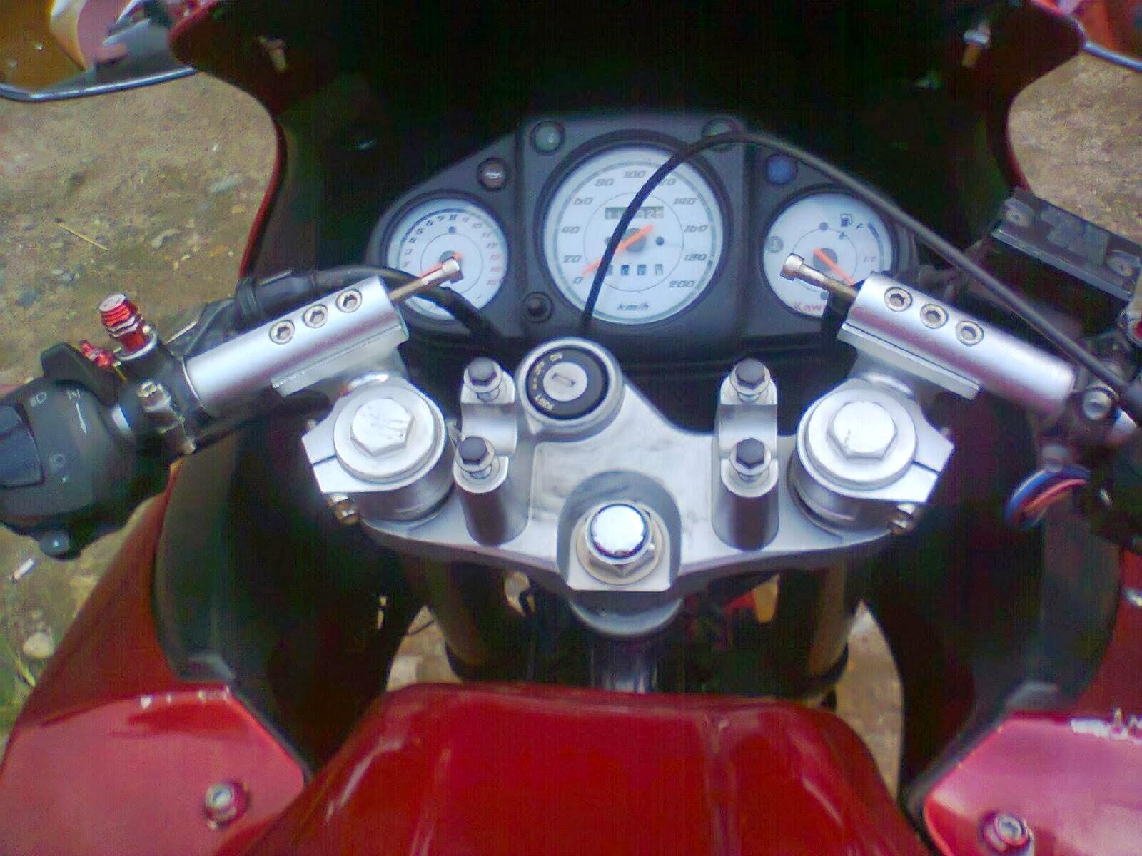 Yamaha Byson Modifikasi Ninja 250