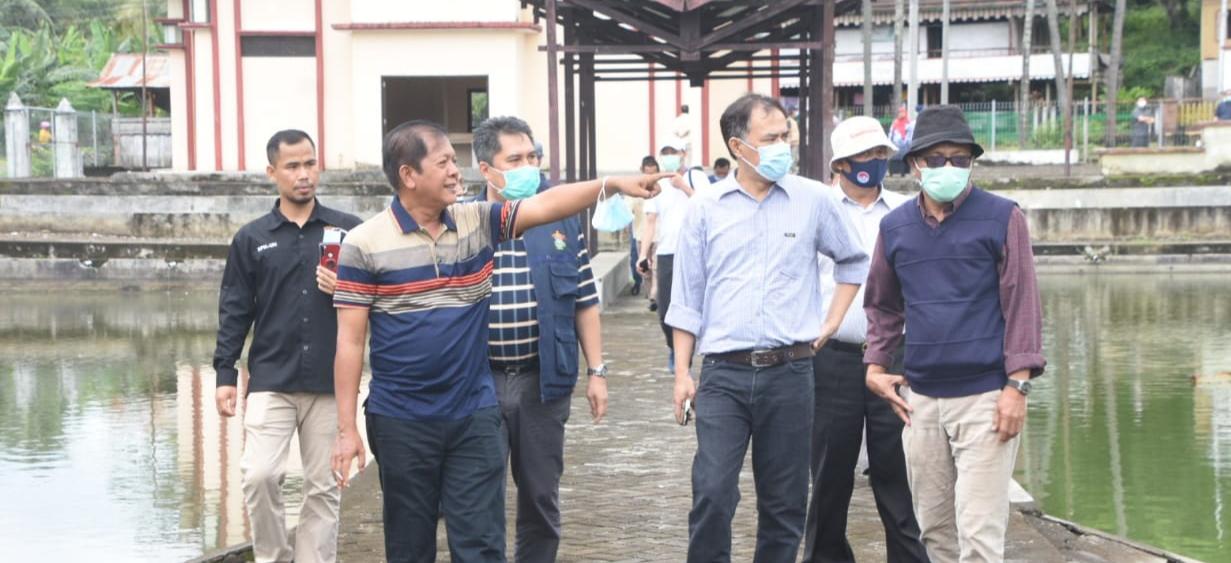 Seputaran Waduk Ompo Kabupaten Soppeng Akan Siap Jadi Kampus Unhas yang Hebat