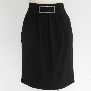 Céline Black Skirt