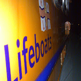 The third night-time shout for Poole lifeboat volunteers in 5 days. The all-weather Tyne class lifeboat launched at 2302 to a motorboat with fouled propellers in Swanage Bay, returning back to station at 0100 on Saturday morning. 15 August 2014 Photo; RNLI Poole/Ed Davies