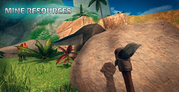 ARK Survival Island Evolve 3d 1.19 MOD (Unlimited Golds/Life/HP) Apk 3