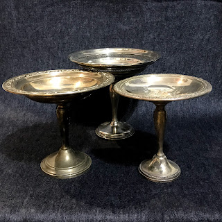 Sterling Silver Compote Trio