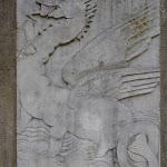 Pergola de la Douce France : le dragon par Ossip Zadkine