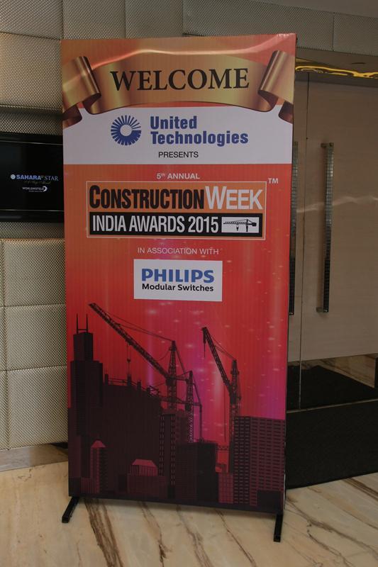 Construction Week India Awards 2015 - Sahara Star 2