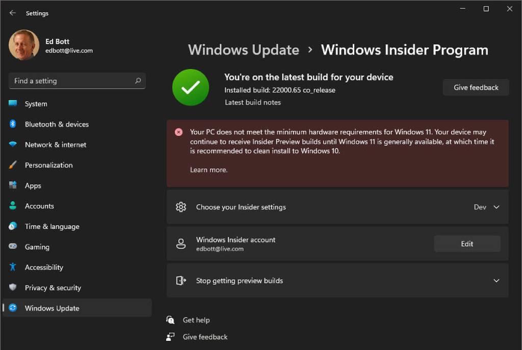متطلبات تشغيل ويندوز 11 على الكمبيوتر