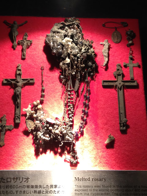 Melted rosary