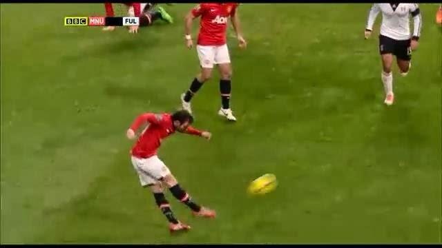 Mata, Manchester United - Fulham