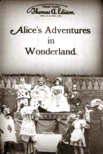 As Aventuras de Alice no País das Maravilhas, 1910 poster
