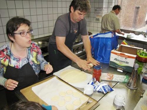 Christel en Lieven zijn ook van de partij.