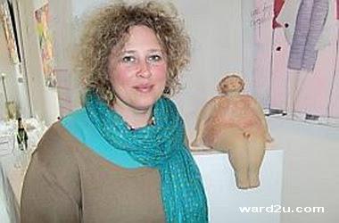 نحت خزفى ابداع الفنانة Anne Sophie Gilloen