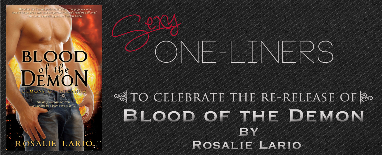 Giveaway & Sexy One-Liners from Blood of the Demon