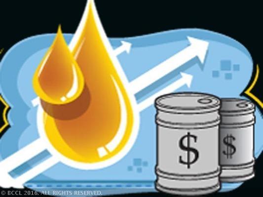 Crude prices edge higher