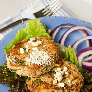 Feta Basil Turkey Burgers Recipe