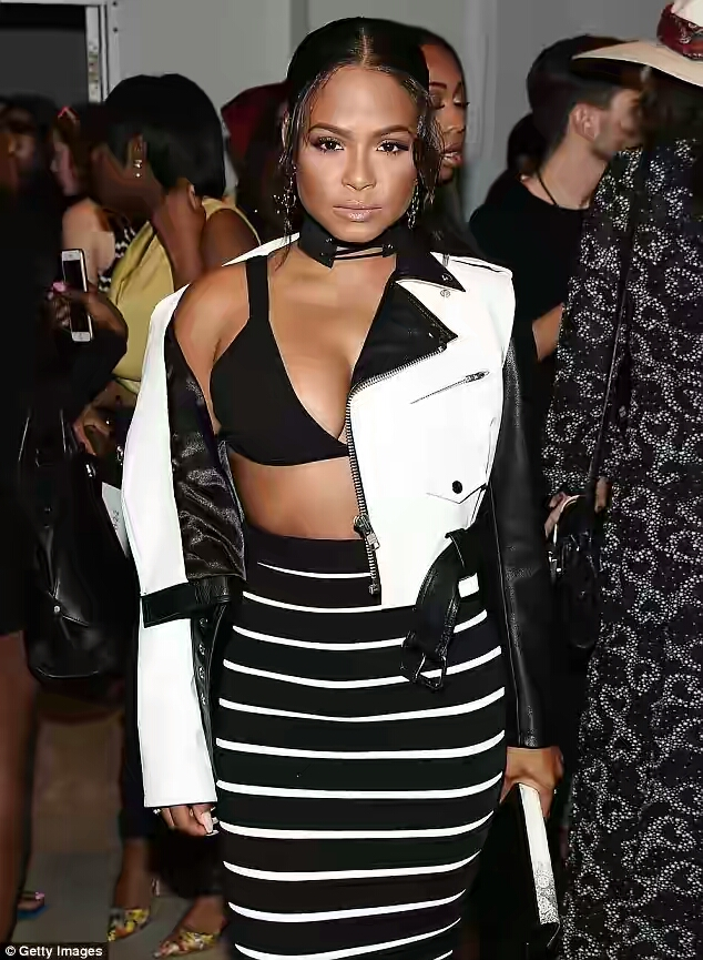 Christina Milian Shows Off Boobs As She Hits New York Fashion Week_1