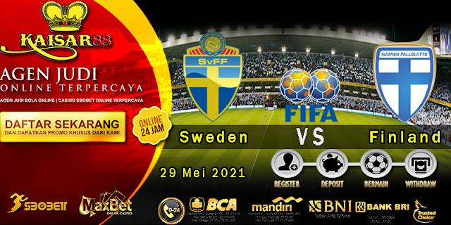Prediksi Bola Terpercaya Laga Friendlies Sweden Vs Finland 29 Mei 2021