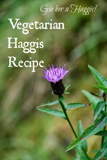 Vegetarian Haggis #Recipe