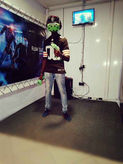 My Experience At XcapeReality - Nigeria's First V.R Gaming Arcade Center 5