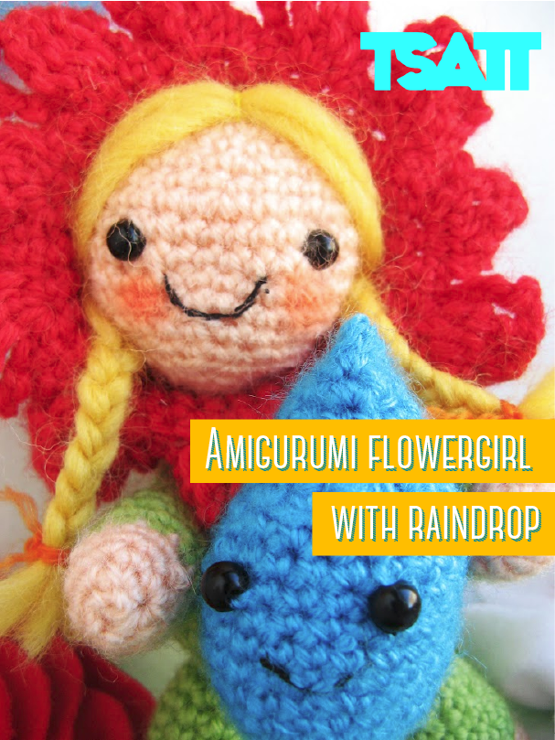 Amigurumi Flower Girl pattern. The Amigurumi represents the simplicity of life. Just add water! :)