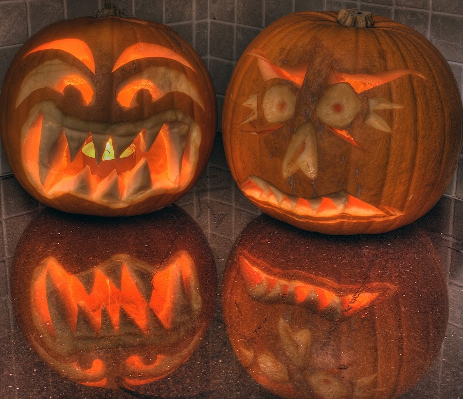 un(happy halloween) by Keith Britton - Food & Drink Fruits & Vegetables ( pwcvegetables-dq )
