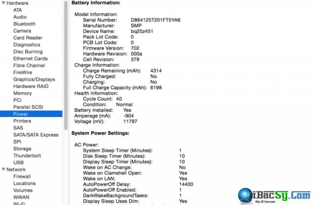 cách kiểm tra pin macbook cũ