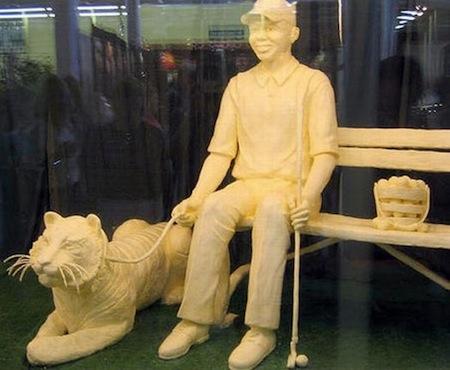 تماثيل من الزبدة